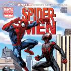 Spider-Men #1 Comic Shop Variant cover by Mark Bagley