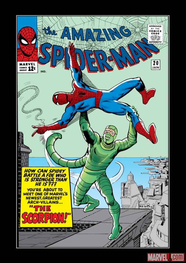 The Amazing Spider-Man Comic Book Cover