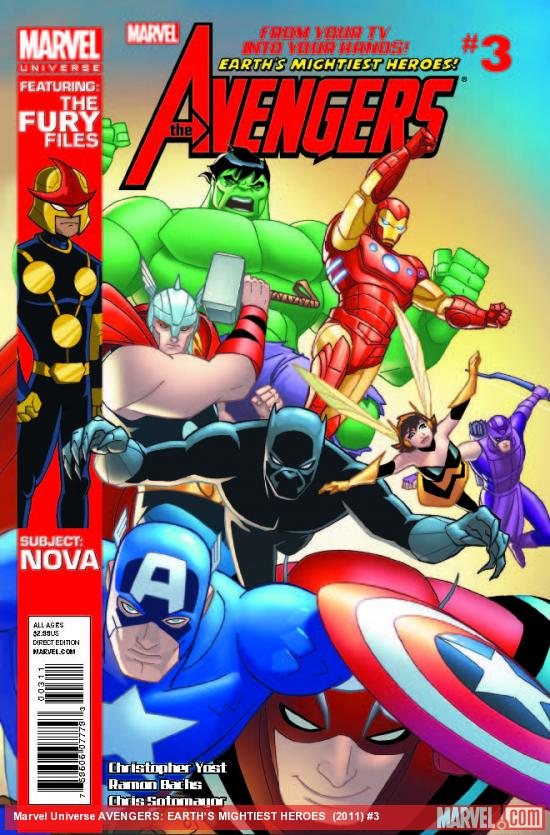 MARVEL UNIVERSE AVENGERS EARTH'S MIGHTIEST HEROES 3