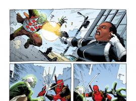 Deadpool (2012) #3 preview art by Tony Moore