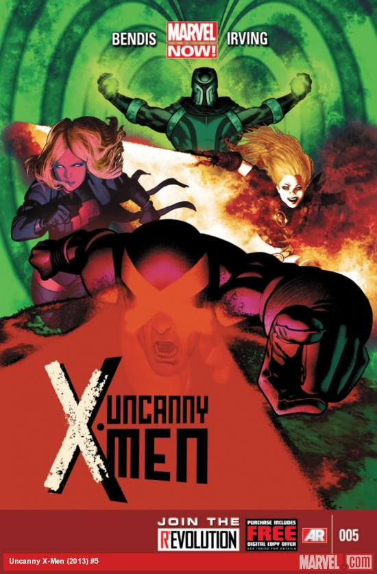 Uncanny X-Men (2013) #5 cover by Frazer Irving