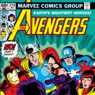 Avengers (1963) #218 Cover
