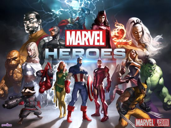Join the free-to-play Marvel Heroes MMO today