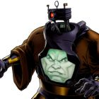 Arnim Zola character model from Marvel: Avengers Alliance