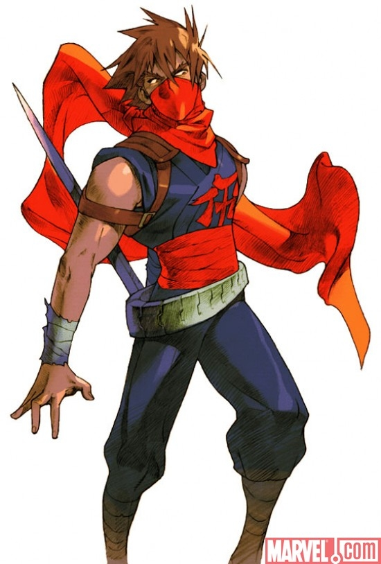 Marvel VS. Capcom 2 Strider