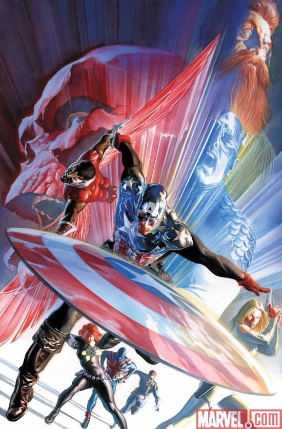 CAPTAIN AMERICA #600 Ross Cover