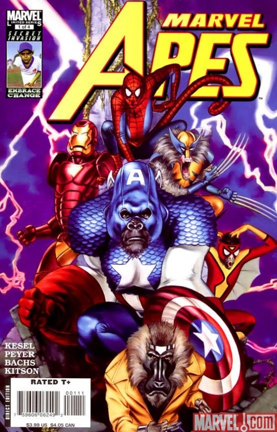 MARVEL APES #1