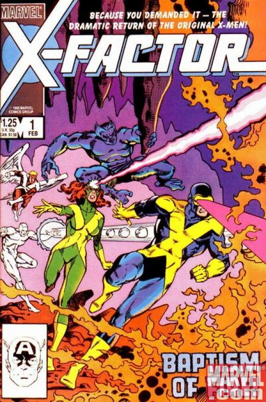 X-FACTOR (1986) #1