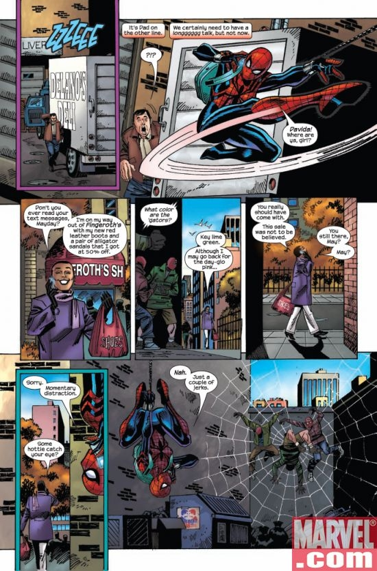 AMAZING SPIDER-GIRL #24, page 5