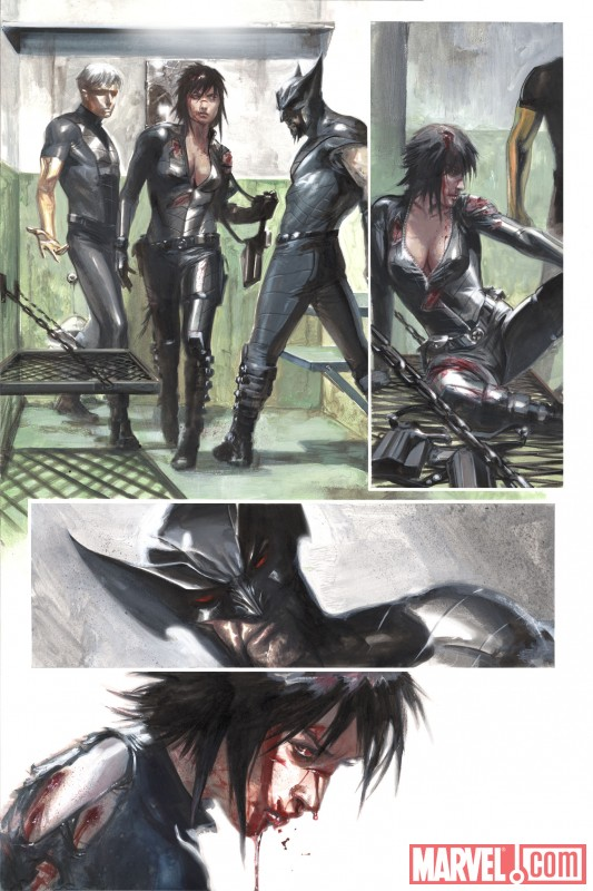 X-FORCE: SEX AND VIOLENCE #1 preview art by Gabriele Dell'Otto 3