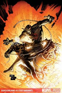 Shadowland (2010) #5 (TAN VARIANT)