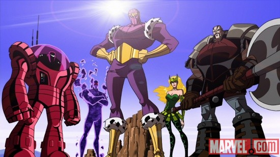 The Masters of Evil from The Avengers: Earth's Mightiest Heroes!