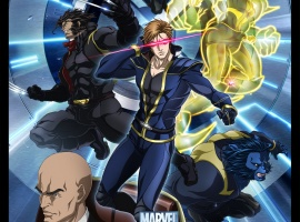 The X-Men from the X-Men Anime series