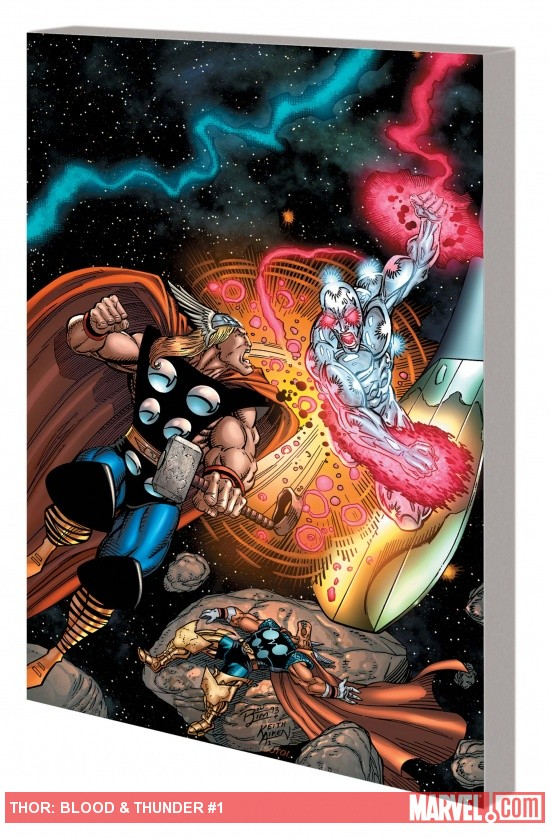 Thor: Blood & Thunder TPB cover