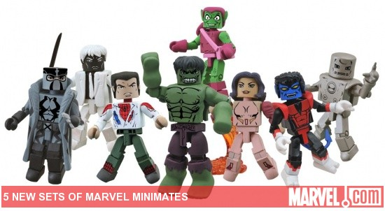 "Toys ""R"" Us Exclusive Diamond Select Minimates"