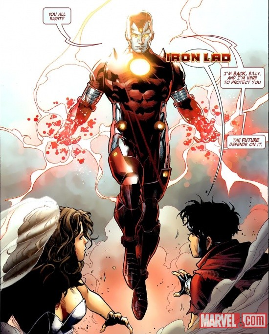 Iron Lad by Jim Cheung