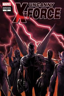 Uncanny X-Force #16  (Mc 50th Anniversary Variant)