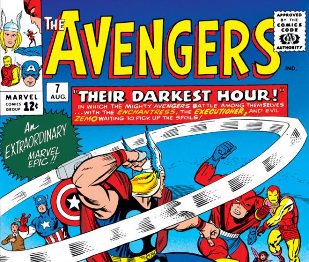 Avengers (1963) #7 cover
