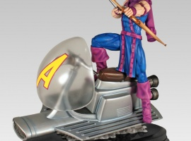 Hawkeye Sky-Cycle Statue from Gentle Giant Ltd