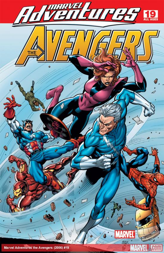 Marvel Adventures the Avengers (2006) #19