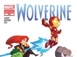 Wolverine (2010) #304 (Avengers Art Appreciation Variant)