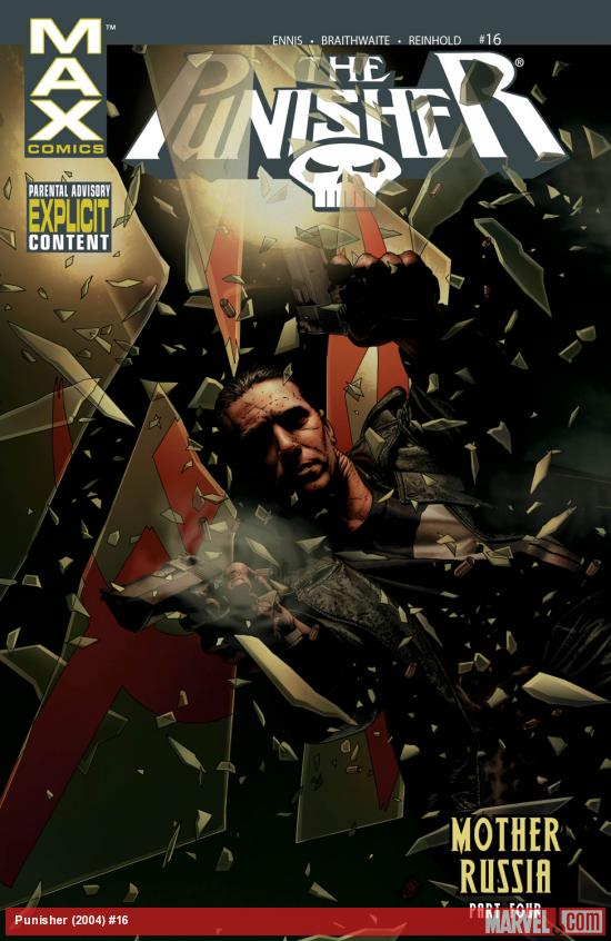 Punisher (2004) #16 Cover