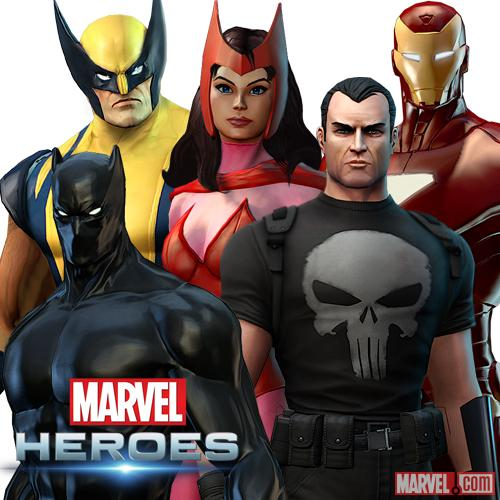 Marvel Heroes December 2012 Promo