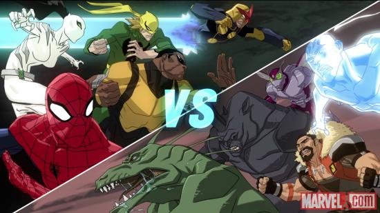 Spidey &amp; his team face the Sinister Six in Ultimate Spider-Man