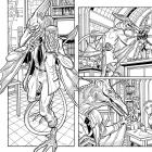 Wolverine & The X-Men #31 preview inks by Nick Bradshaw