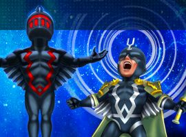Black Bolt in Marvel Mighty Heroes