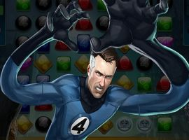 Mr. Fantastic in Marvel Puzzle Quest