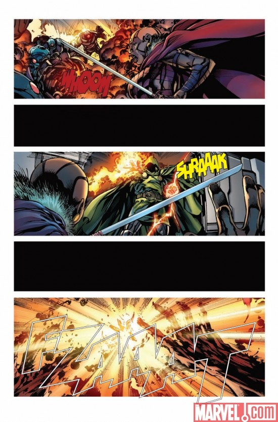 BLACK PANTHER #3 preview page 2