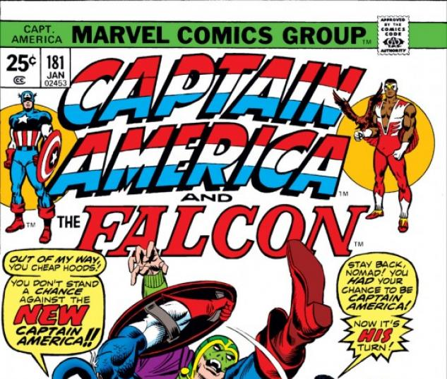 CAPTAIN AMERICA #181 COVER