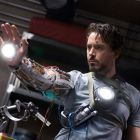 Tony Stark testing Iron Man tech