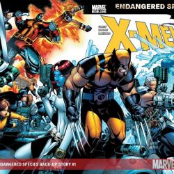 X-Men: Endangered Species Back-Up Story (2007)