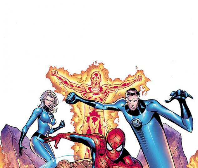 SPIDER-MAN/FANTASTIC FOUR (1994) #1 COVER