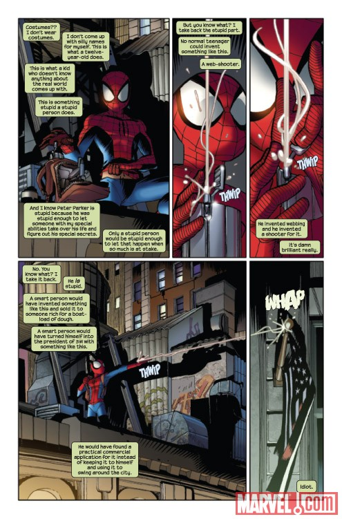 Ultimate Comics Spider-Man #13 preview art by David Lafuente