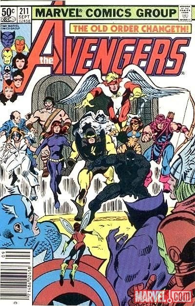 Image Featuring Hercules (Heracles), Moon Knight, Tigra (Greer Nelson), Edwin Jarvis, Hank Pym, Archangel, Avengers, Black Panther, Black Widow, Dazzler