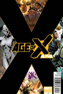 Age of X: Alpha (2010) #1 (2nd Printing Variant )