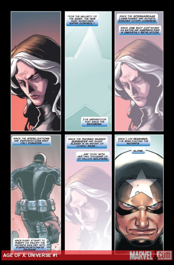 Age of X Universe #1 preview art by Khoi Pham