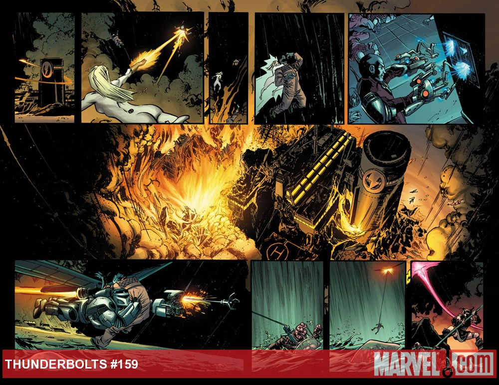 Thunderbolts #159 preview art