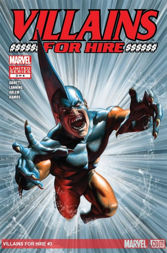 Villains for Hire (2011) #3
