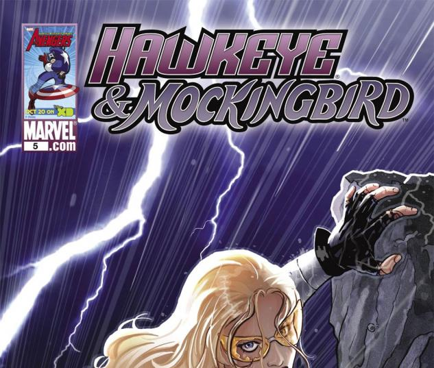 Hawkeye & Mockingbird (2010) #5