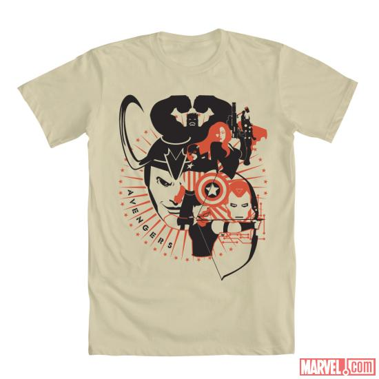 """Avengers Revolution"" by Dominick Cabalo shirt design for Mighty Fine"