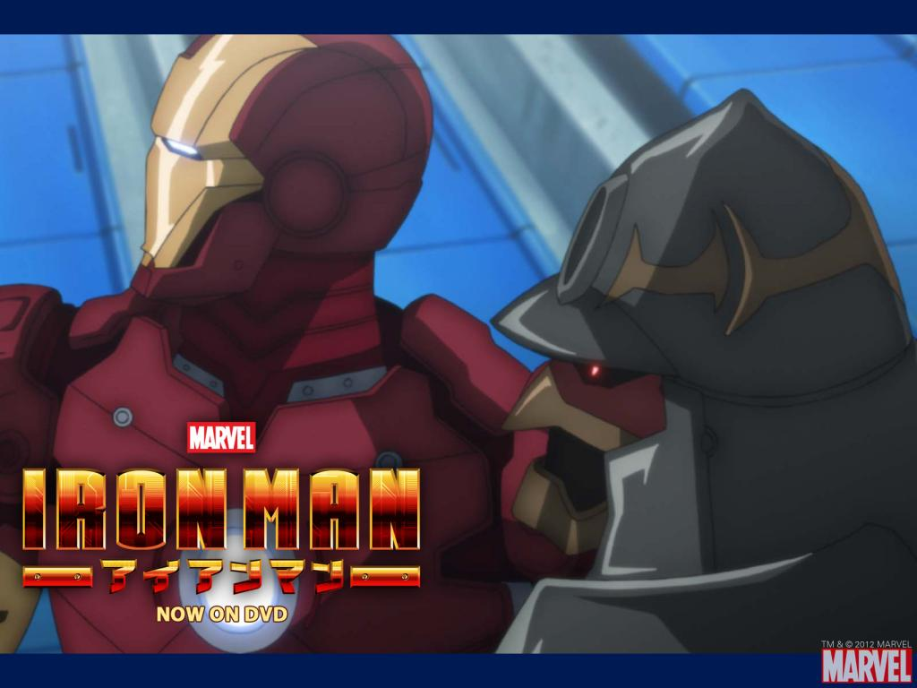 Iron Man Anime Wallpaper #2