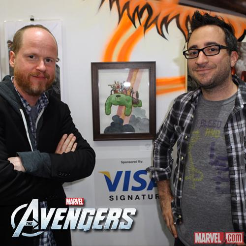 Marvel's The Avengers Featured at Gallery1988
