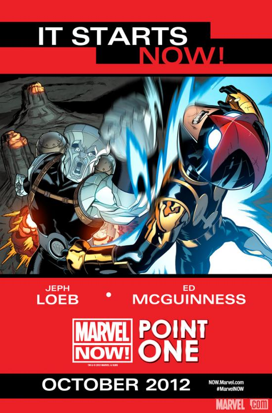 Marvel NOW! Point One teaser by Ed McGuinness