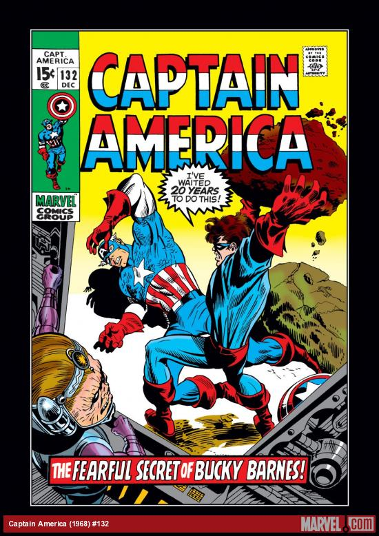 Captain America (1968) #132 Cover
