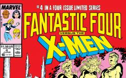 Fantastic Four vs. the X-Men (1987) #4 Cover