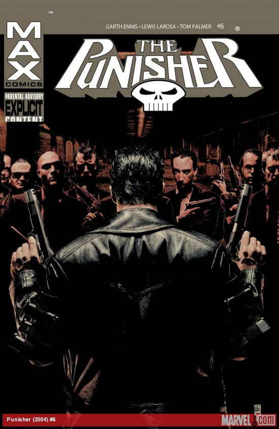 Punisher (2004) #6 Cover